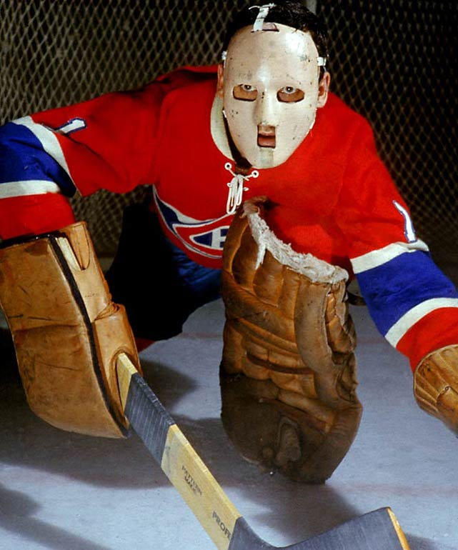 With Halloween and the anniversary of the goalie mask upon us, it's only right that we take a look at some of the most colorful headwear in NHL history. Jacques Plante's mask, which he first wore at New York's Madison Square Garden on Nov. 1, 1959, was a simple fiberglass deal that merely hinted at the often ghoulishly elaborate ones to come. Plante, by the way, was not the first netminder to wear a mask -- Clint Benedict of the Montreal Maroons donned a leather-and-wire variation for a game in 1930 to protect his broken nose and cheekbone -- but Plante was the one who popularized it.