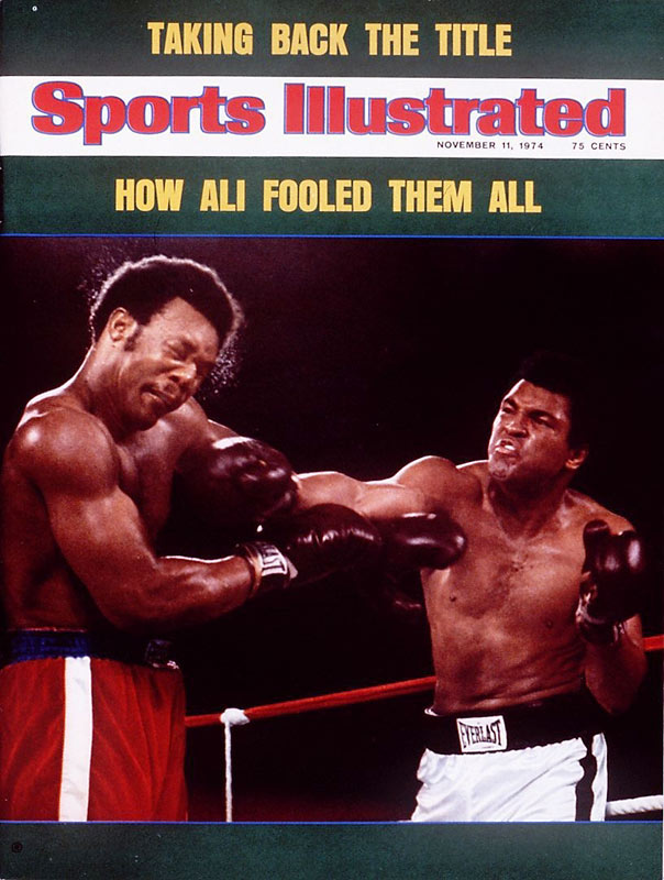 """Heavyweight champion of the world,"" Ali said after the win. ""It's going to take about a week to sink in."""