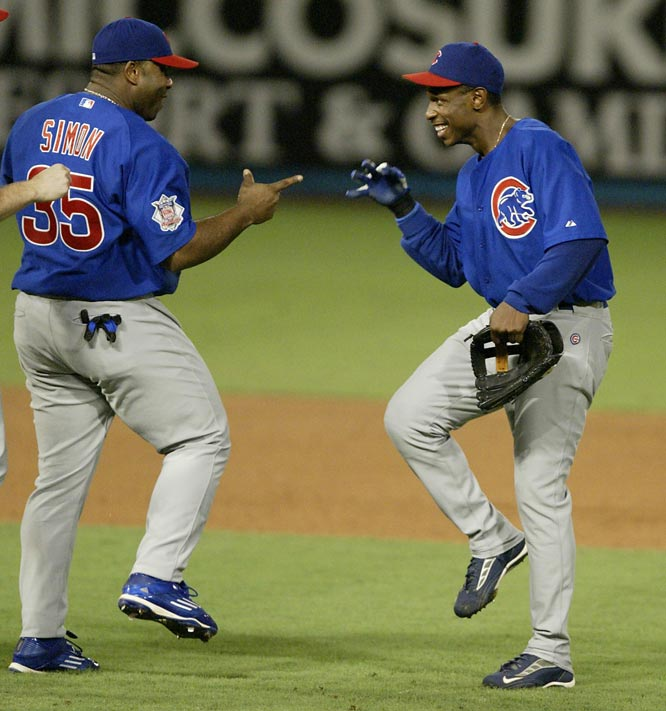 The Chicago Cubs beat the Atlanta Braves in five games to claim their first postseason series victory since the 1908 World Series.
