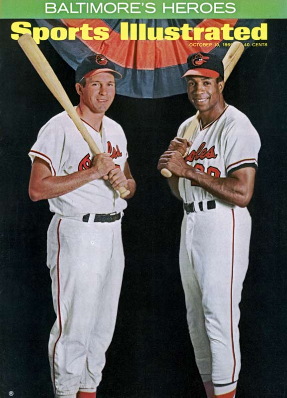 For the second consecutive day, the Orioles win a Fall Classic game, 1-0, in a game decided a home run. Frank Robinson takes a Don Drysdale pitch deep over the left field fence in the fourth inning, giving Baltimore a four-game sweep over the Dodgers.
