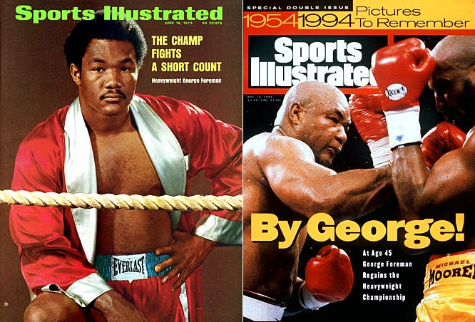 Though inelegant at times, Big George was an irresistible offensive force. In 1987, after a 10-year layoff, he returned older and heavier, but smarter than ever and nearly as effective.