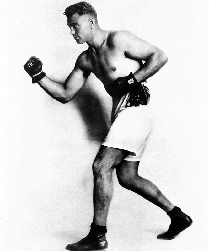 """The """"Manassa Mauler"""" was a ferocious attacking force and pound-for-pound the hardest puncher in heavyweight history. Electrifying in action."""