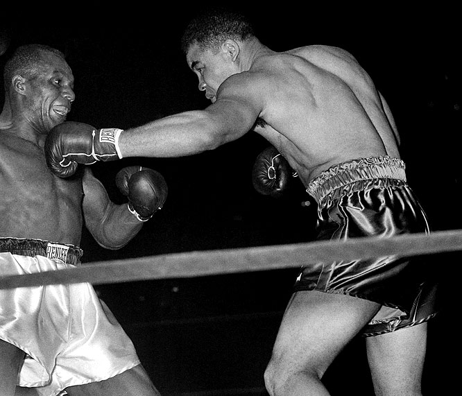 He was the classic boxer-puncher, and the greatest finisher in heavyweight history.