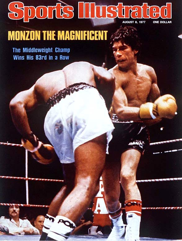 The Argentine hero -- a tall, elegant fighter with a thunderous right hand -- recorded a then-record 14 successful title defenses at middleweight in the 1970s.