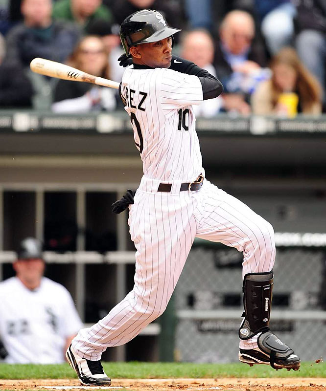"""Ramirez left Cuba in 2007 and signed a four-year, $4.75 million deal with the White Sox. In 2008, """"The Cuban Missile"""" finished second in American League Rookie of the Year voting, hitting .290 with 21 home runs and 77 RBIs in 136 games. He made the final out of Mark Buehrle's perfect game last July."""