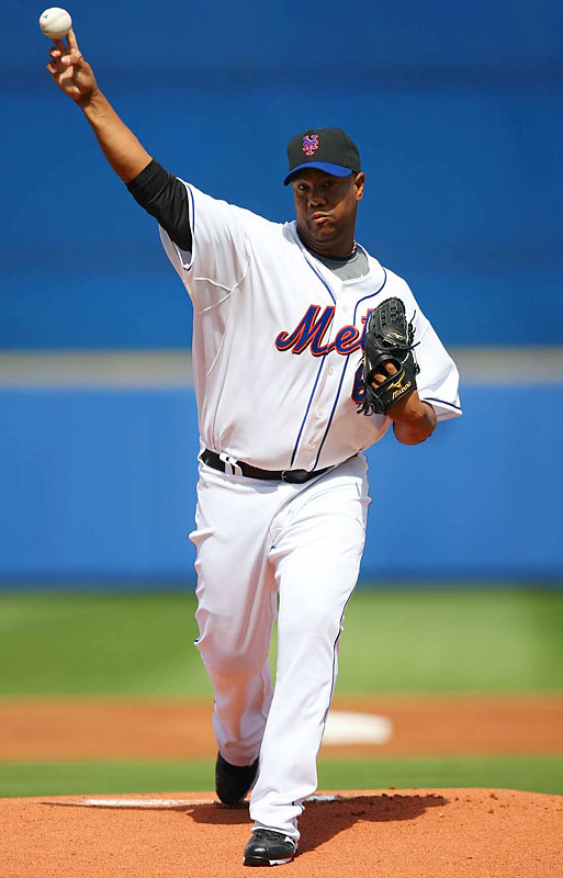 Livan defected to the United States at the age of 20 in 1995. He has enjoyed a fine 14-year career as a member of the Marlins, Giants, Expos, Nationals, Diamondbacks, Twins, Rockies and Mets. A workhorse on the mound, Hernandez led the league in innings pitched for three straight years from 2003-05. The two-time All-Star won a World Series with the Marlins in 1997, earning NLCS and World Series MVP honors along the way.