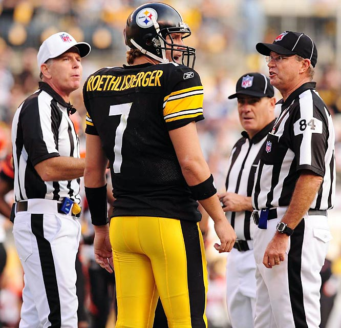 Big Ben wears No. 7 in honor of one of his childhood idols, former Denver quarterback John Elway.