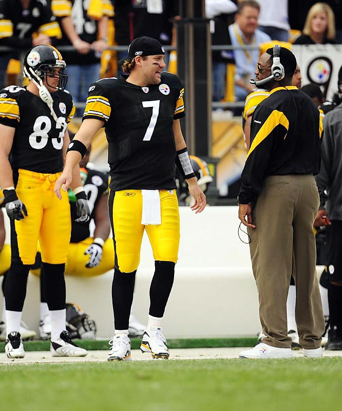 Roethlisberger and Pittsburgh coach Mike Tomlin have each other's back. That bond was evident as the Steelers won last season's Super Bowl.