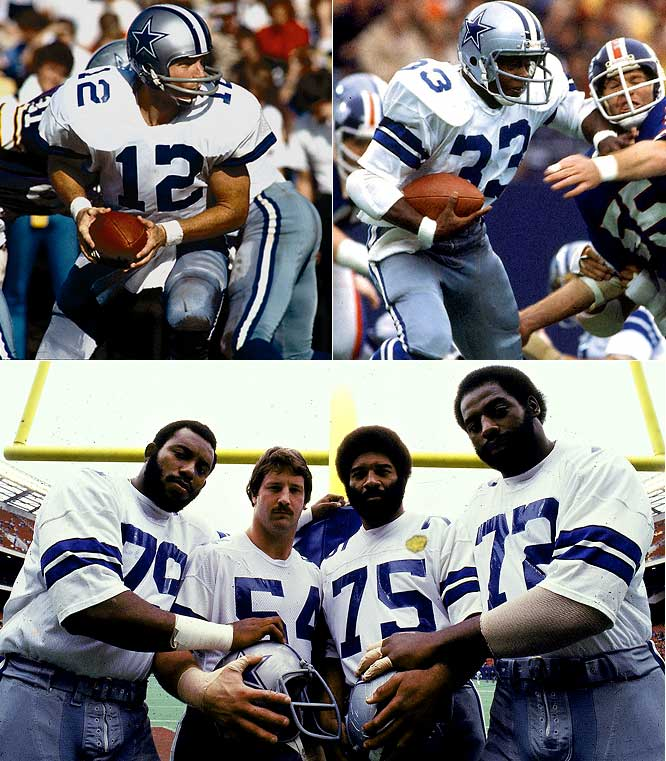 Only three teams in Cowboys history have finished with two losses, but the 1977 squad holds the distinction of owning the best winning streak in franchise history. The eventual Super Bowl winners won their first eight, lost two in a row, and never lost again as Roger Staubach and rookie Tony Dorsett paced a unit that led the NFL in scoring, while Harvey Martin (79) and Randy White (54) led a defense that had the fewest total yards allowed.