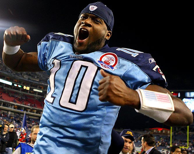 Trailing by four against an Arizona team that was 5-0 on the road, Young led the host Titans on an 18-play, 99 yard touchdown march in the final 2:37 for a 20-17 victory. He converted on three fourth downs during the drive, the last on the game's final play, a 10-yard strike to rookie wide receiver Kenny Britt. Young accounted for every yard on the drive, throwing for 94 and running for six (he was sacked for a 1-yard loss). He finished with a career-high 387 passing yards.