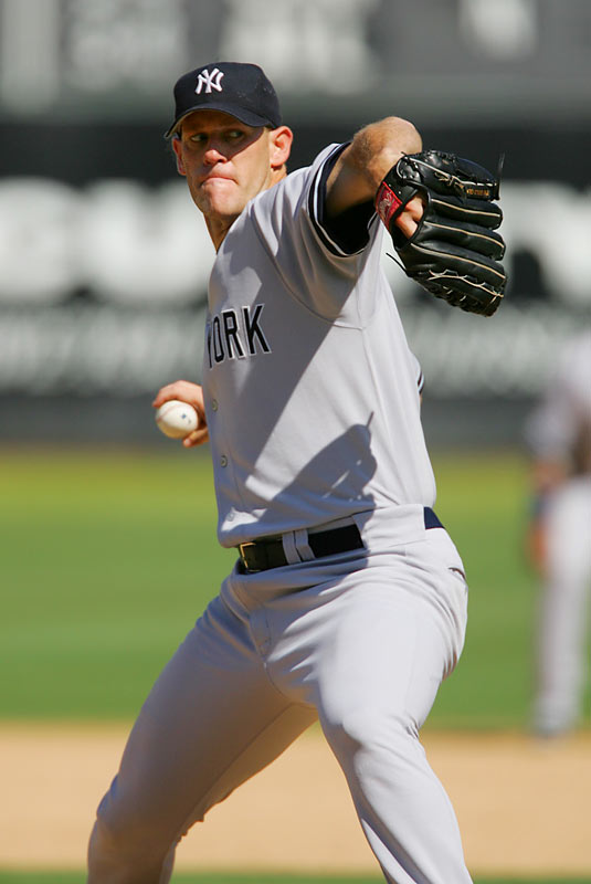 The peripatetic Small had pitched in eight major league games in a six-plus-year span when the injury-plagued Yankees promoted him in July 2005. Small promptly went 10-0 with a 3.20 ERA. He picked up a loss in his only playoff appearance that year, Game 3 of a first-round series against the Angels. Small went on to struggle in 11 outings for the Yankees in 2006, his last taste of the big leagues. He retired in 2007.