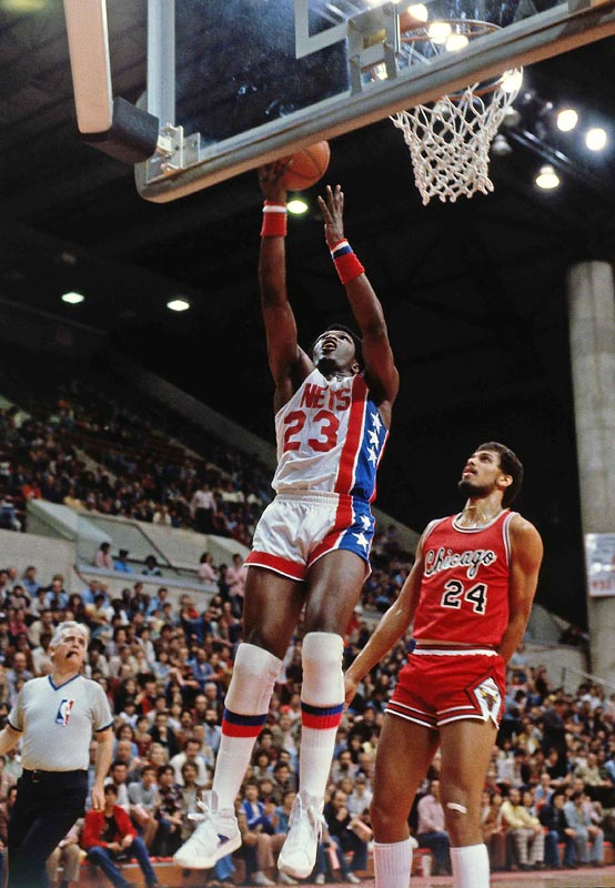"The New Jersey Nets retired No. 23 in honor of ""Super John"" Williamson, who played three years in the ABA and four years in the NBA with the Nets. Williamson owned the second-highest NBA scoring average (22.5 ppg) in team history."