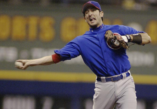 After refusing a $60 million, four-year extension from the Red Sox the previous winter, Nomar Garciaparra signs a one-year deal with the Cubs, the team he was traded to in July, for $8 million.