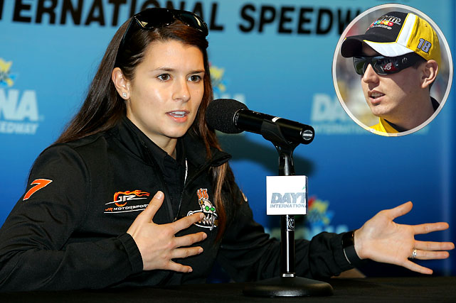 """""""You shouldn't judge her just from the Nationwide race at Daytona, though. I think she'll do fine, long-term. She's got plenty of resources behind her. She's got plenty of help to go to. She is kind of in the same organization with Hendrick Motorsports, so she has all those drivers to feed off of."""""""