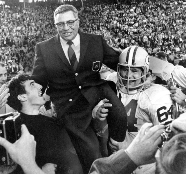 Vince Lombardi resigns as the coach of the Green Bay Packers.