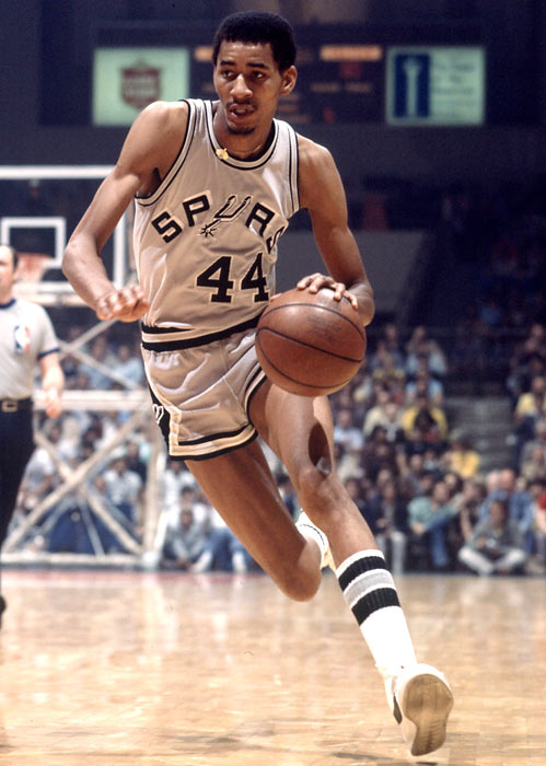 San Antonio's George Gervin scores his 25,000th career point (ABA/NBA combined) in a 118-111 win over Phoenix.