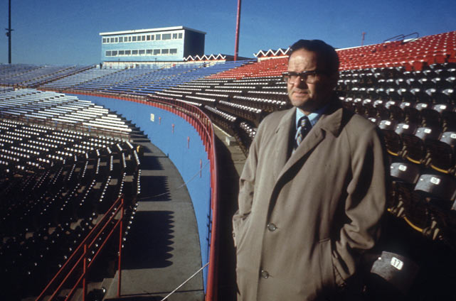 Lamar Hunt, owner of the American Football League franchise in Dallas, moves his team to Kansas City and renames them the Saints.
