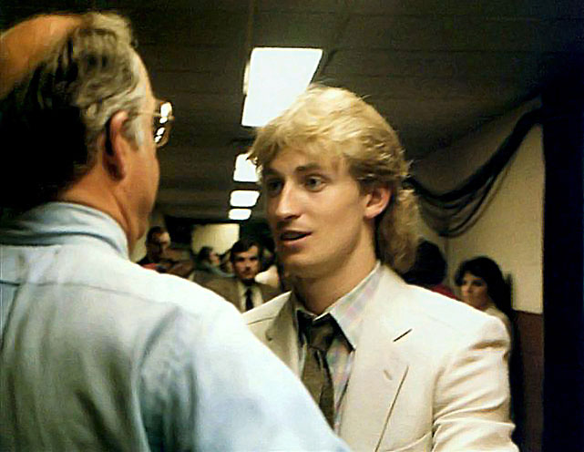 "The Oilers reached their first Stanley Cup Final, only to be swept by the four-time defending champion New York Islanders. Gretzky congratulated Islanders GM Bill Torrey, who told him, ""Don't worry, kid. You'll be back next year."" Torrey was right. In 1984, Gretzky and the Oilers dethroned the Isles in five games."