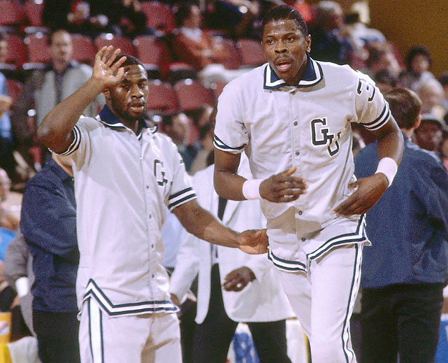 After a run to the finals in Ewing's freshman year, Georgetown took a step back his sophomore season, losing to Memphis State in the second round.