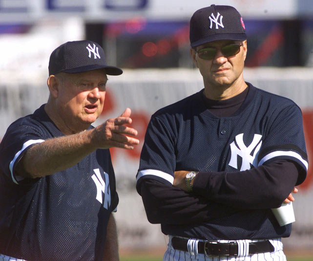 The Yankees name Don Zimmer as the interim skipper of the club. The team's bench coach will fill for Joe Torre, while the manager receives treatments for prostate cancer.