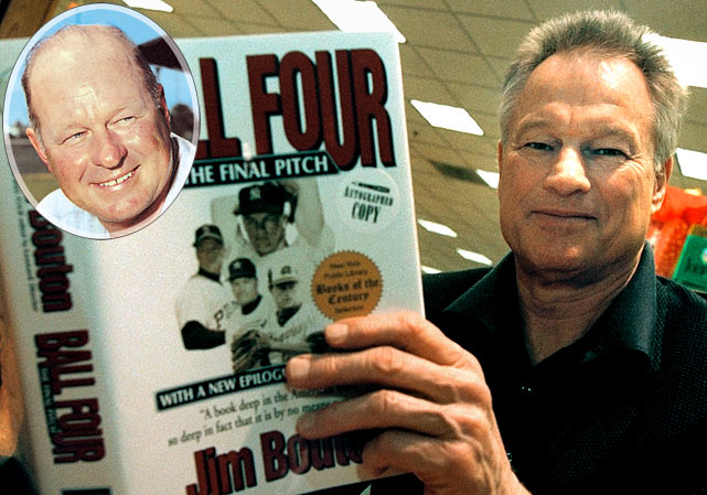 """Throw him low smoke and we'll go pound some Budweiser.""  -- the Seattle Pilots manager's one-size-fits-all advice to his pitchers, often cited in Jim Bouton's classic book, Ball Four."