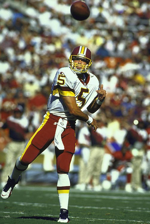 Shuler displayed all the tools at Tennessee, but he never understood the nuances of an NFL offense while in Washington. Shuler played 19 lackluster games in three seasons with Washington before being displaced by Gus Frerotte. Shuler was traded to the Saints, where he lasted one year.