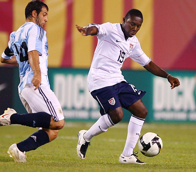 Adu's opportunities for the senior U.S. national team have been far and few.