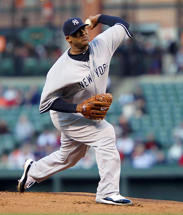 Despite a portly frame, Carsten Charles Sabathia is regarded as one of the best pitchers in baseball today. In 2009, he went 19-8 with 197 strikeouts with the champion Yankees.