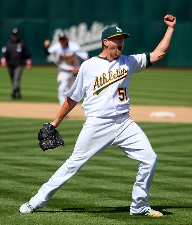 On Mother's Day, 2010, Dallas Braden delivered the 19th perfect game in Major League history. His rare game marked just the eighth time a left-handed pitcher had ever accomplished the feat, joining the likes of Sandy Koufax, Randy Johnson and Mark Buehrle.