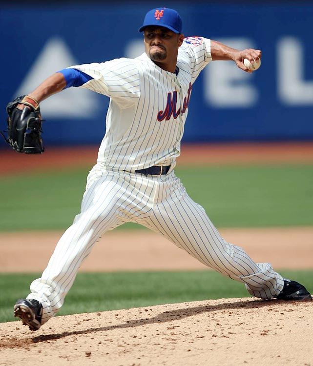 At 31, Santana already has a career record of 125-62, a career ERA of 3.14, 1,773 strikeouts and two Cy Young trophies.