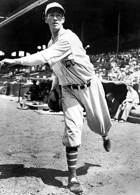 """Robert Moses """"Lefty"""" Grove made his big league debut in 1925 with the Philadelphia Athletics and went on to a 300-win career with the A's and Red Sox."""