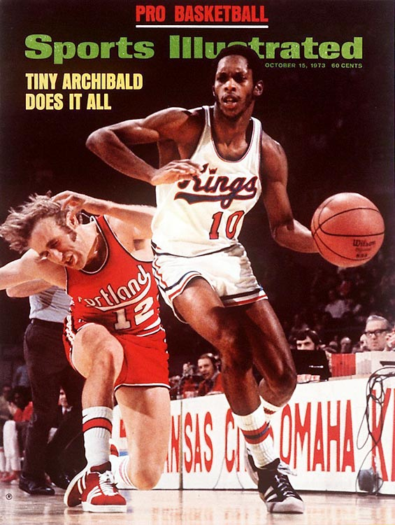 """At 6-foot-1, """"Tiny"""" was unimposing, but with the ball in his hands, he was a menace. His Hall of Fame career included time with the Royals, Kings, Nets, Celtics and Bucks."""