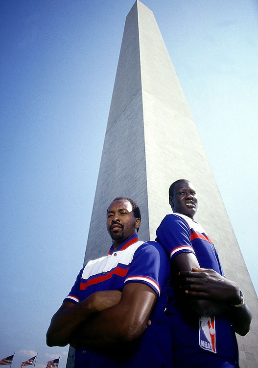 Bol teamed with Moses Malone to make one of the most imposing big-man combos in the NBA. During his rookie season, Bol appeared in 80 games and averaged 5.0 blocks per game. He also set the NBA rookie record with 397 blocks.