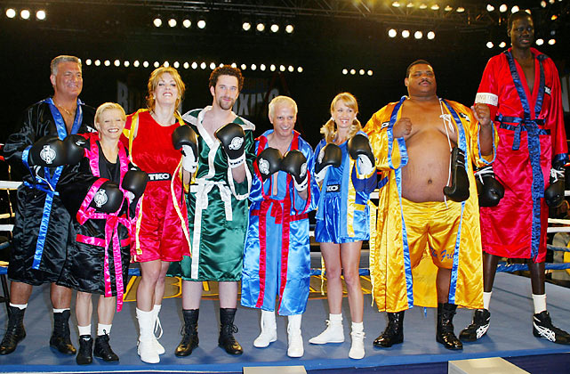 Bol also made an appearance on Fox's short lived Celebrity Boxing along with Joey Buttafuoco, Olga Korbut, Joanie Laurer, Dustin Diamond, Ron Palillo, Darva Conger and William Perry.