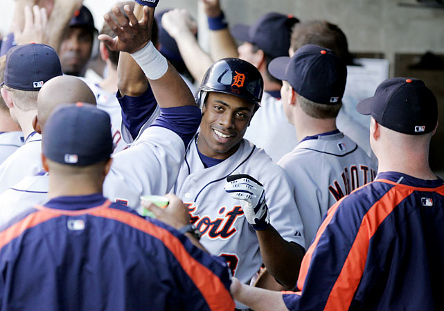 Now 29, Granderson's positive attitude and bright smile have helped him dismiss criticism throughout his career.