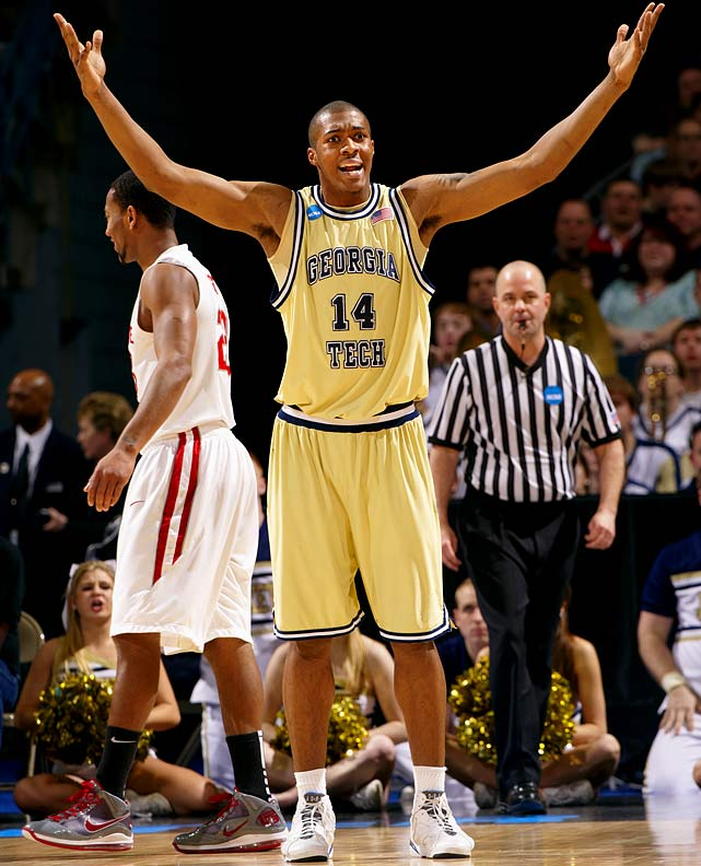 Georgia Tech -- Freshman 18 years old 6-10, 246 pounds  Incredibly long and athletic big man with superb rebounding and defensive instincts to go along with a developing offensive game.