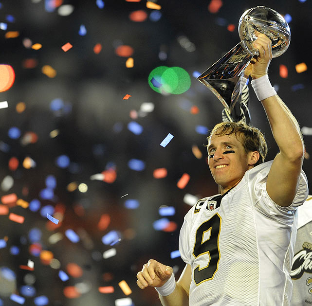 The South Florida region has played host more than any other region, including XLIV in February, when Drew Brees' Saints defeated the Colts at Sun Life Stadium. Years hosted: 1968, 1969, 1971, 1976, 1979, 1989, 1995, 1999, 2007, 2010.