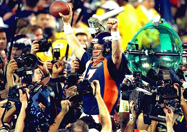 San Diego was the site of John Elway's first title, which came in XXXII against the Packers at Qualcomm Stadium in 1998. Years hosted: 1988, 1998, 2003.