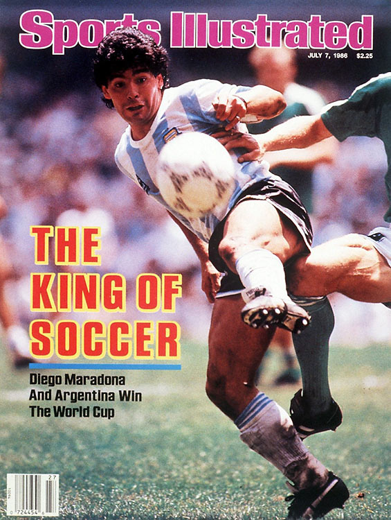 Maradona owned the 1986 finals in Mexico, playing with fearlessness and guile–and a little luck, too, as his Hand of God goal helped Argentina slip past England in the quarterfinals. His performance against Belgium in the semis (two second-half goals) was incredible, and though the Germans kept him quiet for most of the final, it was his cross that set up Jorge Barruchaga for the winner.