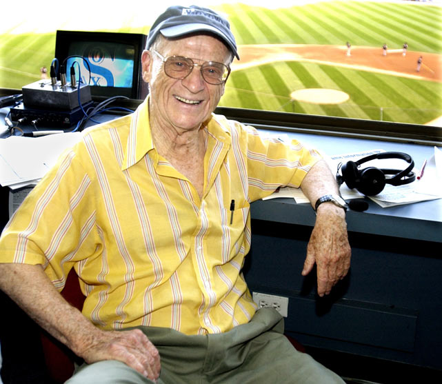 """Harwell spent 55 years broadcasting baseball for the Dodgers, Giants, Orioles, Tigers and Angels. Harwell was the only announcer in history to be traded for a player when the Dodgers acquired his contract in 1948. But he is best remembered for his 42 years in Detroit, which earned him the moniker """"the Voice of the Tigers."""" He passed away this week, at the age of 92."""