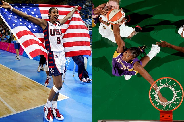 A shame, as we Aussies dislike her so, but she is a four-time Olympic gold medalist and a three-time WNBA MVP.
