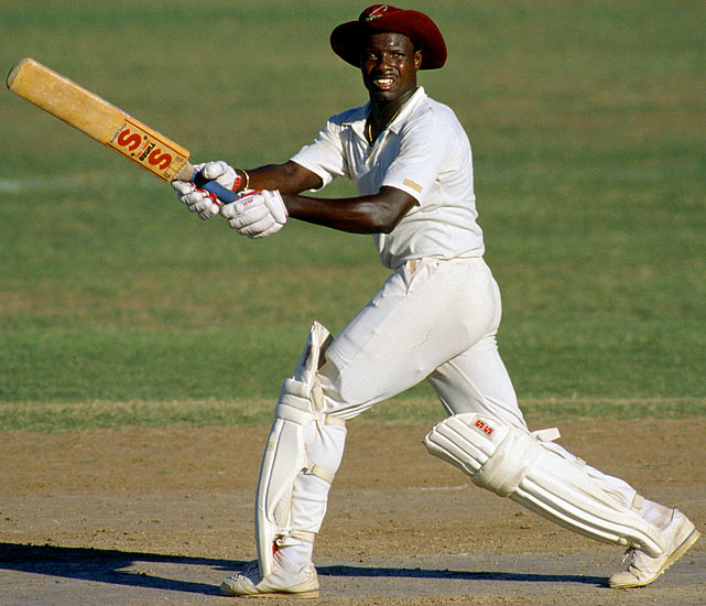 So West Indian cricketer Malcolm Marshall missed out in the M category, but this West Indian great scores a spot on my team, even though the U.S. crowd can suggest the likes of Ray Rice, Rex Ryan and others. (For those who favor one of the greatest boxers of all time, let me remind you that Sugar Ray Robinson's real name was Walter Smith Jr.)