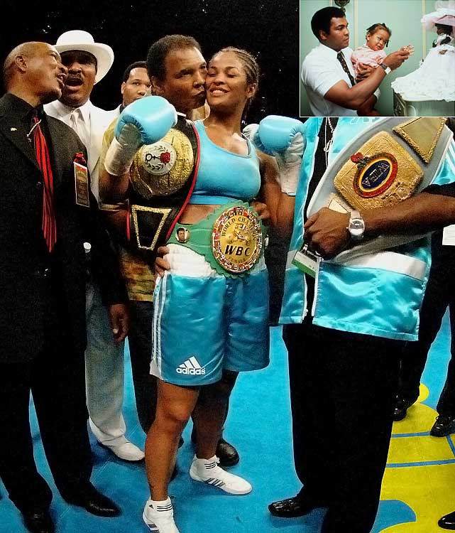 Laila's 2001 fight against Jackie Frazier-Lyde was dubbed Ali/Frazier IV, in honor of the three famous bouts between Laila's and Jackie's fathers, Muhammad and Joe.