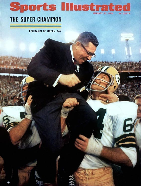 As the namesake of the Super Bowl trophy, Lombardi obviously made his mark on the NFL. Lombardi immediately transformed the Green Bay Packers into a powerhouse, winning five NFL titles and the first two Super Bowl crowns in nine seasons at the helm.