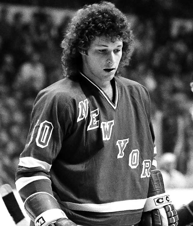 The Ranger heart throb brought the Peter Frampton perm to the NHL in the late '70s.