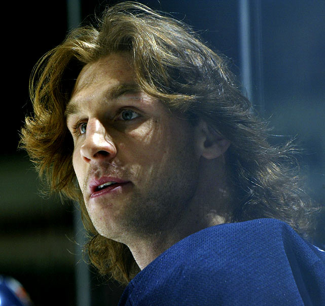 One of the NHL's great hair farmers, Smyth could have easily been mistaken for a rock star when he arrived on Long Island in 2007.