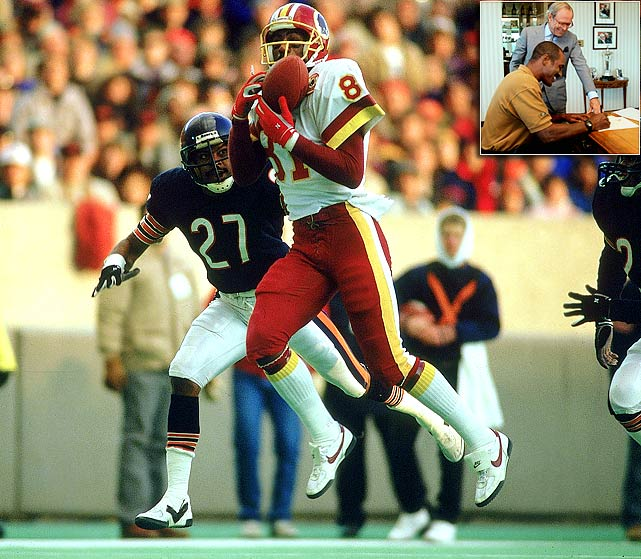 The Redskins have graced a few of their former stars with ceremonial retirements, including kickoff returner Brian Mitchell and wide receiver Leslie Shepherd. But none were bigger than Monk, who helped Washington win three Super Bowls in four appearances and retired as a Redskin in July 1997. Who would you add to the list? Send comments to siwriters@simail.com.