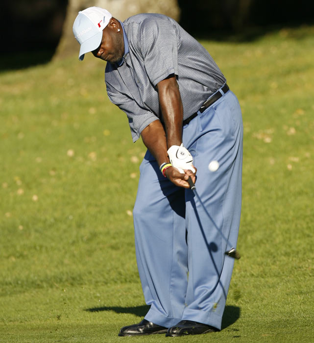 Though his football career is over, Smith stays active on the links. He hosted the inaugural Emmitt Smith Celebrity Invitational at TPC Craig Ranch in McKinney, Texas, last May.