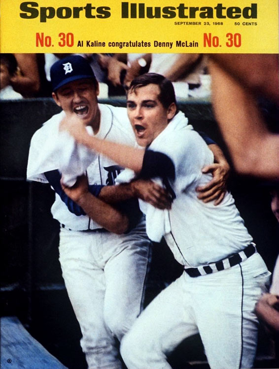 In 1968, won 31 games for the Tigers, becoming the last pitcher to win 30 in a single season, but it took him 336 innings to do so. He won the AL Cy Young award that year, and again the next, when he went 24-9 and pitched 325 innings, but his arm started hurting and he was never the same. He won just 17 more games and grabbed more headlines for his exploits off the field (including a three-month suspension in 1970) than for anything he did on it. Repeated arm injuries helped end his career in 1972 at age 28.