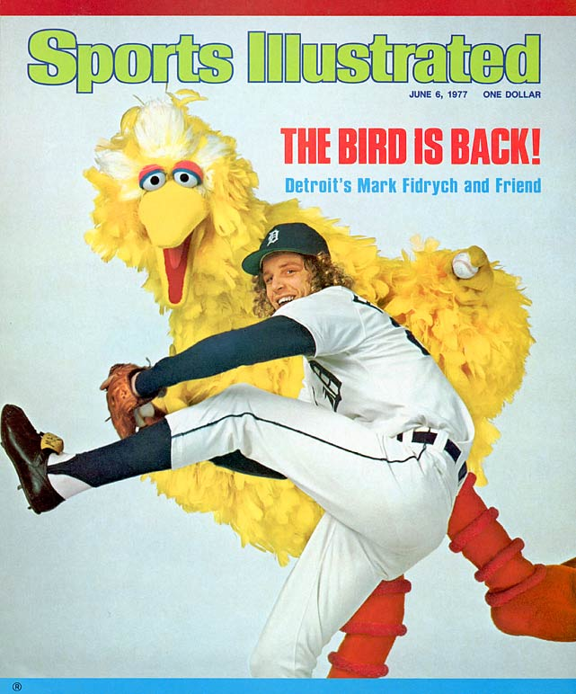 Fidrych was the biggest story in baseball during the 1976 regular season. The Tigers' rookie drew as much attention for his antics on the mound, which included smoothing out the mound and talking to himself, as his league-best 2.34 ERA, 24 complete games and Rookie of the Year honors. But Fidrych's arm was never the same after he pitched 250 1/3 innings that year. He pitched just 162 games the rest of his career, retiring in 1980 at age 26.